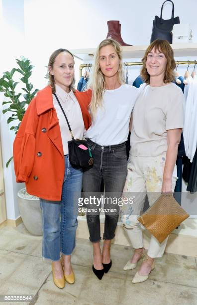 Greta Heichemer Jessica de Ruiter and Katrina Dickson at Creatures of Comfort Celebrates Silverlake Opening hosted by Jade Lai Jenny Slate and Busy...