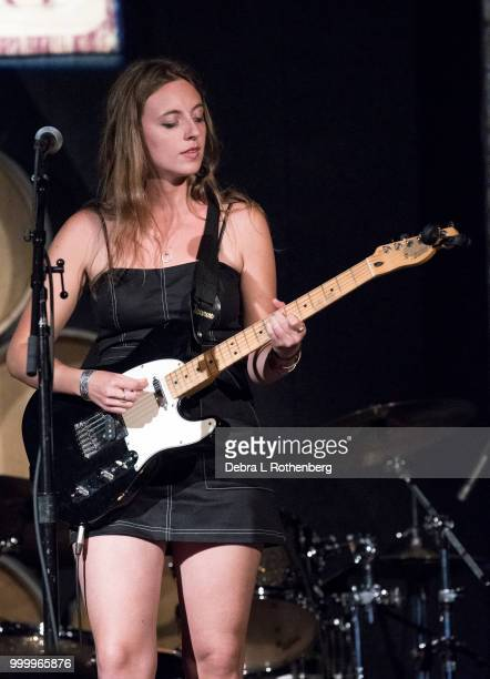 Greta Keating opens up for Dennis Quaid live in concert at City Winery on July 15 2018 in New York City