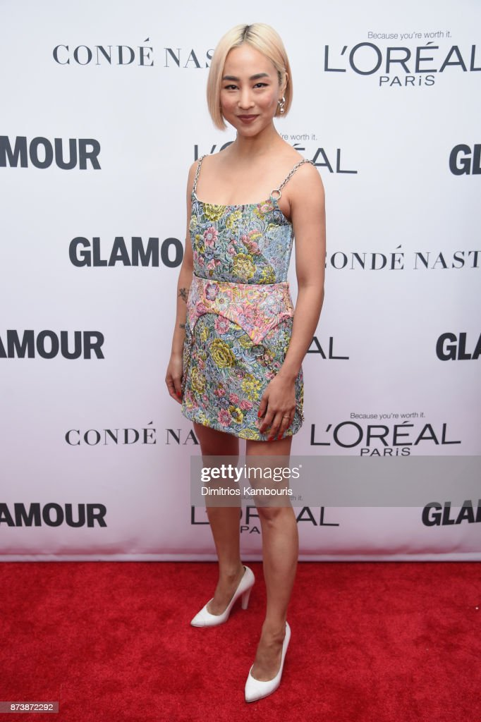 Greta Lee attends Glamour's 2017 Women of The Year Awards at Kings Theatre on November 13, 2017 in Brooklyn, New York.