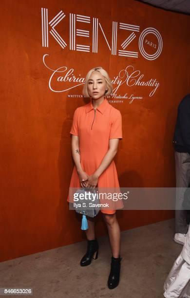Greta Lee attends KENZO Humberto Leon Carol Lim And Natasha Lyonne Premiere Cabiria Charity Chastity In New York City at Public Arts on September 13...