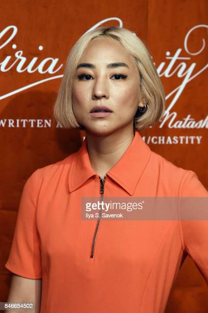 "Greta Lee attends KENZO, Humberto Leon, Carol Lim And Natasha Lyonne Premiere ""Cabiria, Charity, Chastity"" In New York City at Public Arts on..."