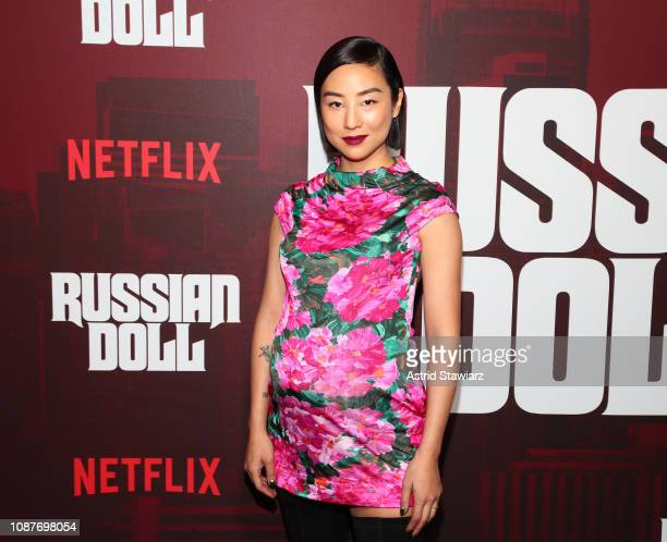 """Greta Lee attends """"Russian Doll"""" Premiere at The Metrograph on January 23, 2019 in New York City."""