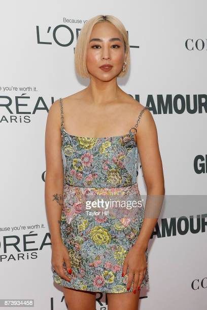 Greta Lee attends the 2017 Glamour Women Of The Year Awards at Kings Theatre on November 13, 2017 in New York City.