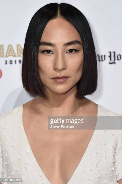 Greta Lee attends the 2019 IFP Gotham Awards at Cipriani Wall Street on December 02, 2019 in New York City.
