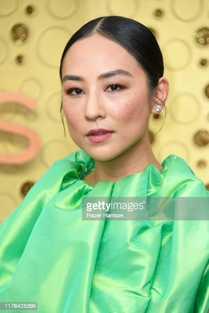 Greta Lee attends the 71st Emmy Awards at Microsoft Theater on September 22, 2019 in Los Angeles, California.