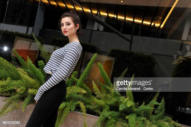 Greta Menchi attends 'Classe Z' Photocall In Rome on March 23 2017 in Rome Italy
