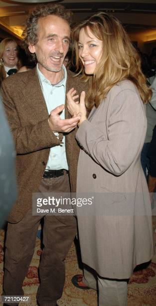 Greta Scaatchi attends at the '24 Hour Plays' gala party at the Riverbank Plaza Hotel after the performance at the Old Vic Theatre on October 8 2006