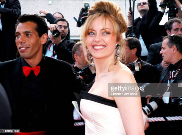 Greta Scacchi and guest during 2004 Cannes Film Festival 2046 Premiere at Palais Du Festival in Cannes France