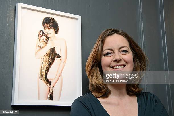Greta Scacchi attends a photocall ahead of the private view of Rankin Fishlove on October 25 2012 in London England