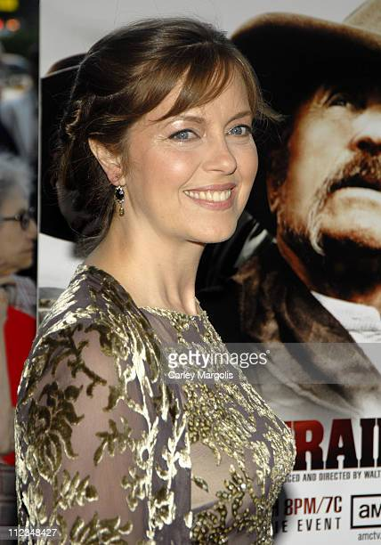 Greta Scacchi during Broken Trail New York Premiere at Loews Lincoln Square in New York City New York United States