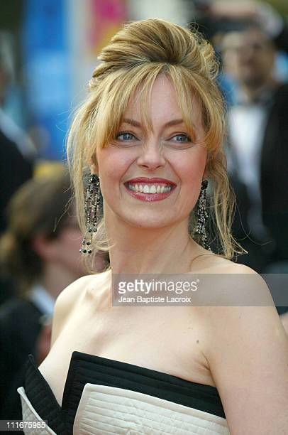 Greta Scacchi during Cannes Film Festival 2004 2046 Premiere at Palais des Festivals in Cannes France