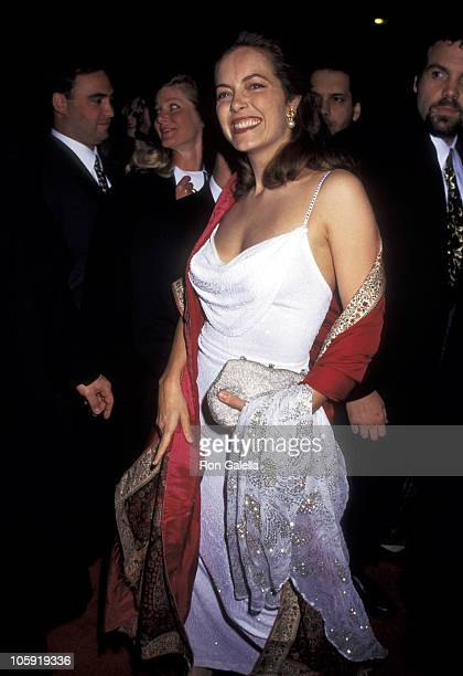 Greta Scacchi during Premiere of Jefferson In Paris Benefiting the French American Foundation at Paris Theater in New York City New York United States