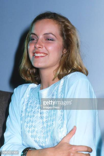 Greta Scacci circa 1981 in New York City