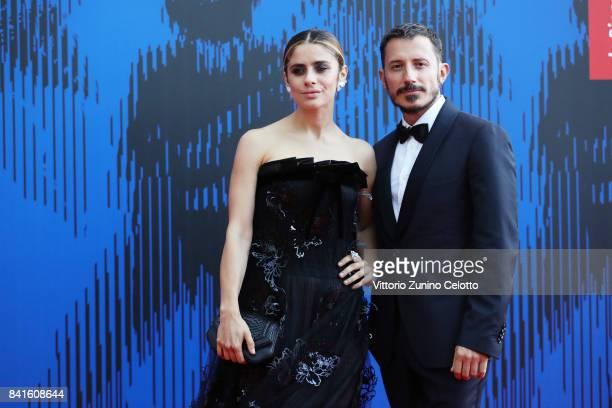 Greta Scarano and Michele Alhaique attend the The 1st Franca Sozzani Award during the 74th Venice Film Festival at Sala Giardino on September 1 2017...