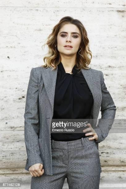 Greta Scarano attends 'Smetto Quando Voglio Ad Honorem' photocall at The Space Moderno on November 22 2017 in Rome Italy