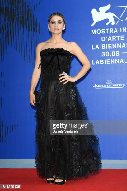 Greta Scarano attends the Franca Sozzani Award during the 74th Venice Film Festival on September 1 2017 in Venice Italy