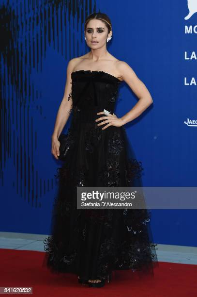 Greta Scarano attends the Franca Sozzanzi Award during the 74th Venice Film Festival on September 1 2017 in Venice Italy