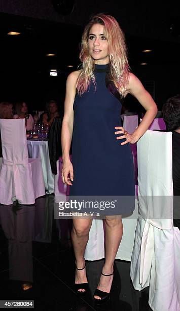 Greta Scarano attends the Premio Afrodite 2014 at Capitol Club on October 15 2014 in Rome Italy