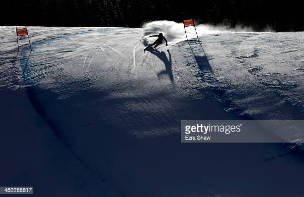 Greta Small of Australia in action during day 2 of training on Raptor for the FIS Beaver Creek Ladies Downhill World Cup on November 27 2013 in...