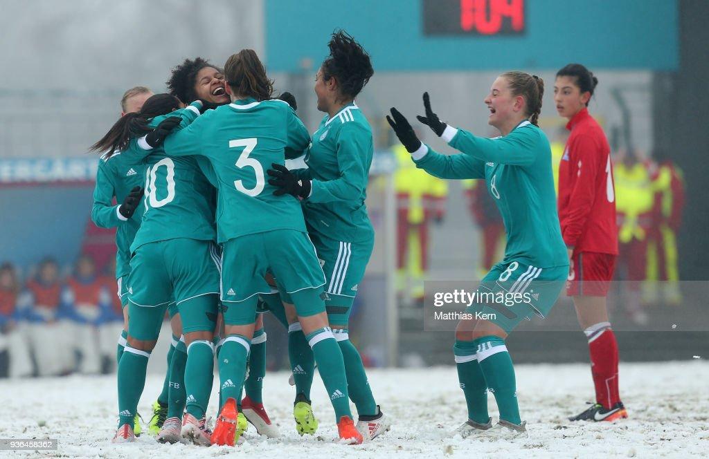 U17 Girl's Germany v U17 Girl's Azerbaijan - UEFA U17 Girl's European Championship Qualifier
