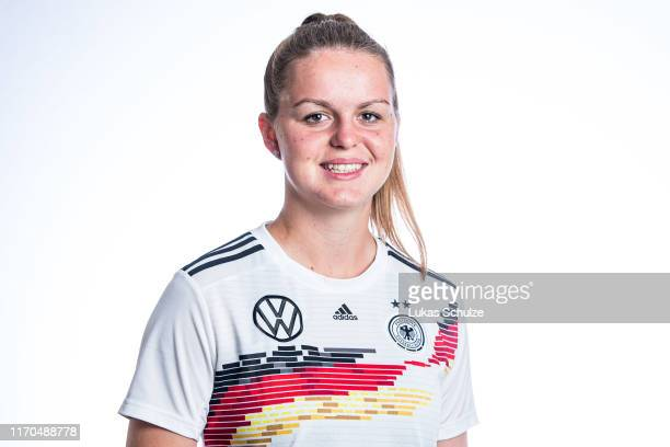Greta Stegemann poses on August 27 2019 in Tilburg Netherlands