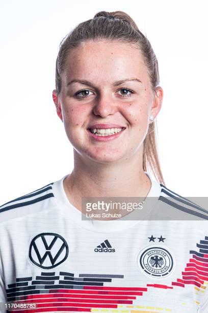 Greta Stegemann poses on August 27 2019 in Tilburg Netherlands