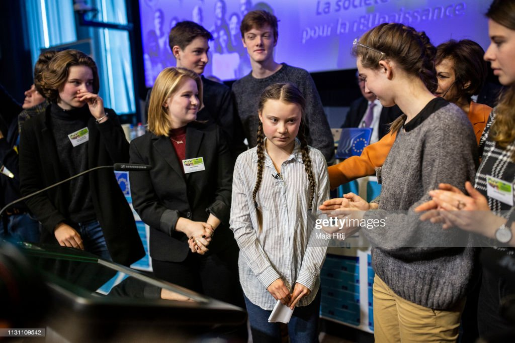 BEL: Greta Thunberg Speaks In Brussels, Attends Climate Protest March
