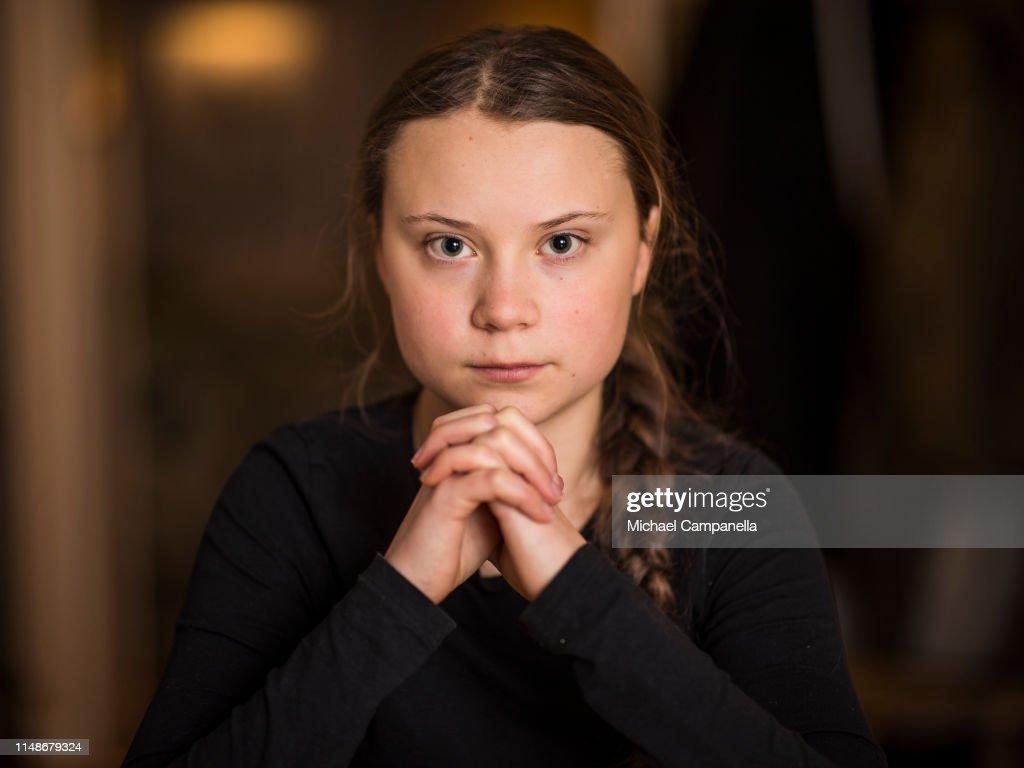 Greta Thunberg Portrait Session : News Photo