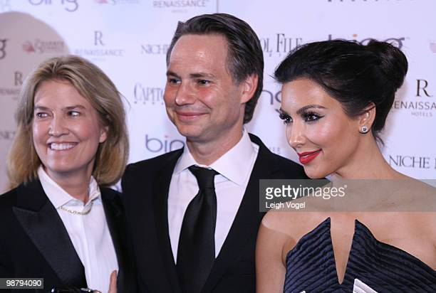 Greta van Susteren Jason Binn and Kim Kardashian attend the White House Correspondents' Association dinner after party hosted by Niche Media and...