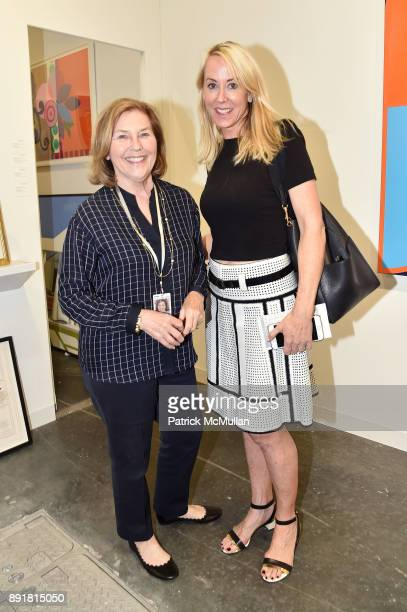 Gretchen Berggruen and Laura Sweeney attend Art Basel Miami Beach Private Day at Miami Beach Convention Center on December 6 2017 in Miami Beach...