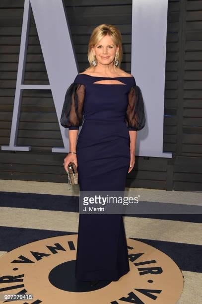 Gretchen Carlson attends the 2018 Vanity Fair Oscar Party hosted by Radhika Jones at the Wallis Annenberg Center for the Performing Arts on March 4...