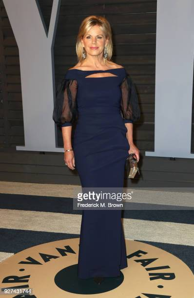 Gretchen Carlson attends the 2018 Vanity Fair Oscar Party hosted by Radhika Jones at Wallis Annenberg Center for the Performing Arts on March 4 2018...
