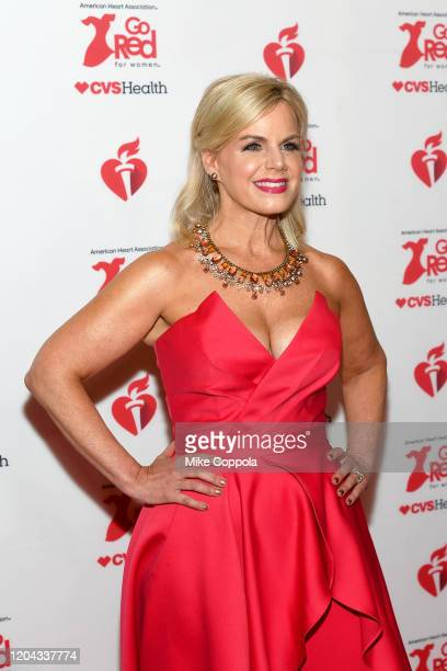 Gretchen Carlson attends The American Heart Association's Go Red for Women Red Dress Collection 2020 at Hammerstein Ballroom on February 05 2020 in...
