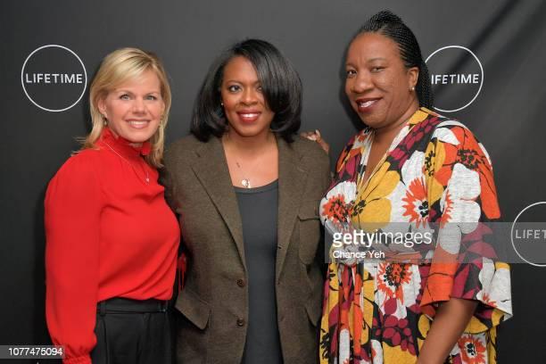 Gretchen Carlson Brie Miranda Bryant and Tarana Burke attend Lifetime / NeueHouse Luminaries series 'Surviving R Kelly' documentary screening and...