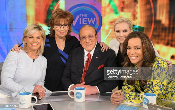 THE VIEW Gretchen Carlson is the guest cohost and Clive Davis is the guest today Thursday January 25 2018 on ABC's 'The View' 'The View' airs...