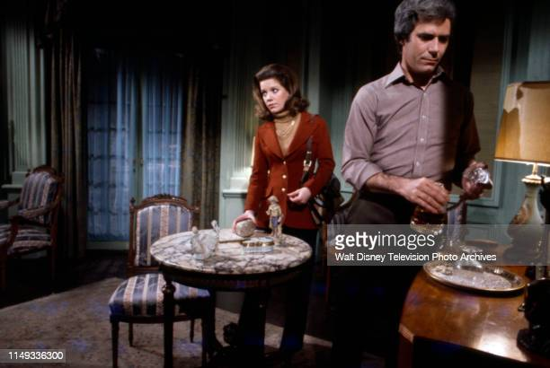 Gretchen Corbett Keith Charles appearing in the ABC tv series 'The Wide World of Mystery' episode 'The House and the Brain'