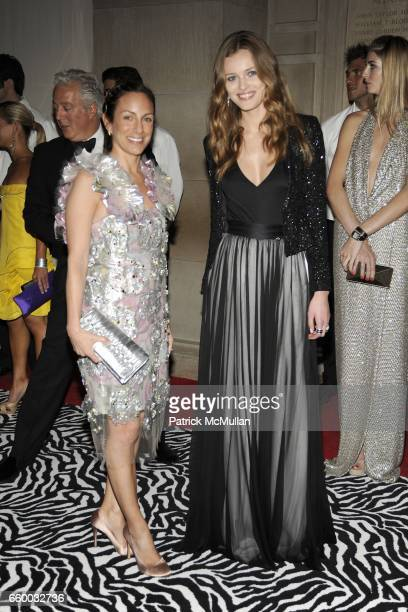 Gretchen Fenton and Edita Vilkeviciute attend THE COSTUME INSTITUTE GALA 'The Model As Muse' with Honorary Chair MARC JACOBS INSIDE at The...