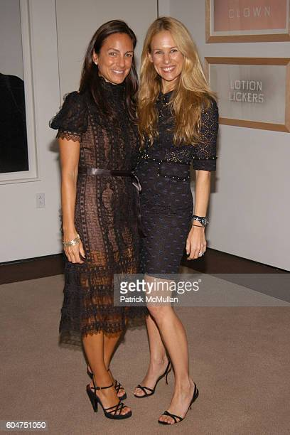 Gretchen Gunlocke Fenton and Rebekah McCabe attend Signé Chanel Premiere at The Core Club on September 5 2006 in New York City