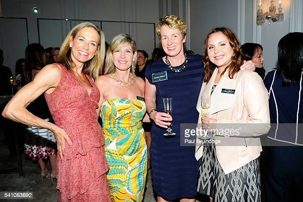 Gretchen Lium Lisa Brannigan Kathryn Holleran and Anna Brusco attend AIG Private Client Group and Lifestylist Advisory Celebrate the Launch of...