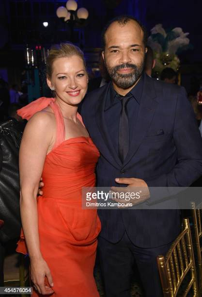 Gretchen Mol and Jeffrey Wright attend HBO's 'Boardwalk Empire' Season Five Premiere After Party at Cipriani on September 3 2014 in New York City