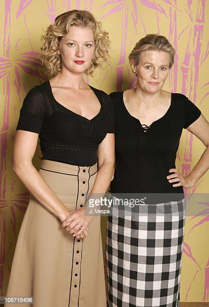 Gretchen Mol and Mary Harron Director during 2005 Toronto Film Festival Notorious Bettie Page Portraits at HP Portrait Studio in Toronto Canada