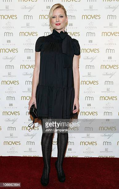 Gretchen Mol attends 2010 Moves Magazine Power Women awards dinner and ceremony at Astor Center on November 9 2010 in New York City