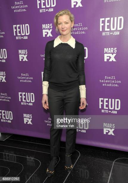 Gretchen Mol attends Feud Tastemaker lunch at The Rainbow Room on February 14 2017 in New York City