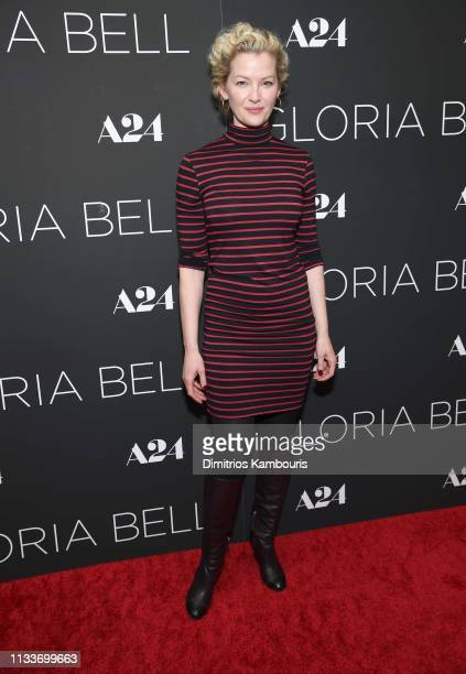 Gretchen Mol attends Gloria Bell New York Screening at Museum of Modern Art on March 04 2019 in New York City
