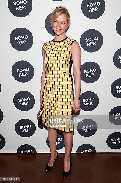 Gretchen Mol attends Soho Rep's 2014 Spring Fete at The Angel Orensanz Foundation on March 31 2014 in New York City
