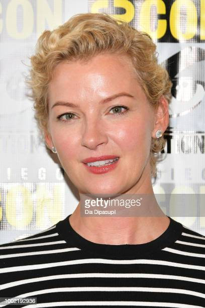 Gretchen Mol attends SYFY'S 'Nightflyers' Press line during ComicCon International 2018 at Hilton Bayfront on July 19 2018 in San Diego California