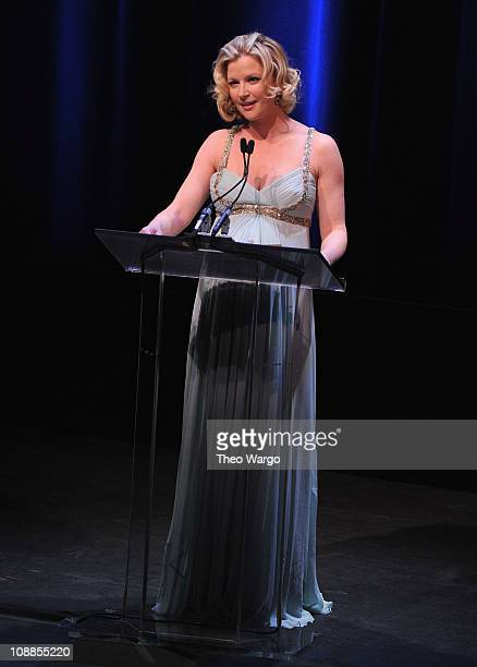 Gretchen Mol attends the 63rd annual Writers Guild Awards at the AXA Equitable Center on February 5 2011 in New York City