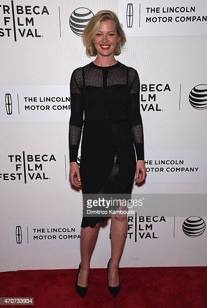 Gretchen Mol attends the 'Anesthesia' premiere during the 2015 Tribeca Film Festival at BMCC Tribeca PAC on April 22 2015 in New York City