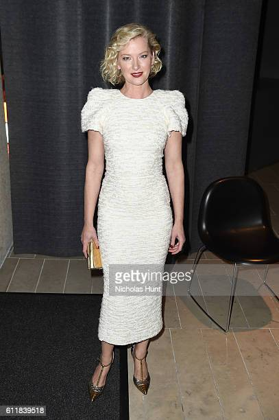 Gretchen Mol attends the Manchester by the Sea world premiere during the 54th New York Film Festival at Alice Tully Hall at Lincoln Center on October...
