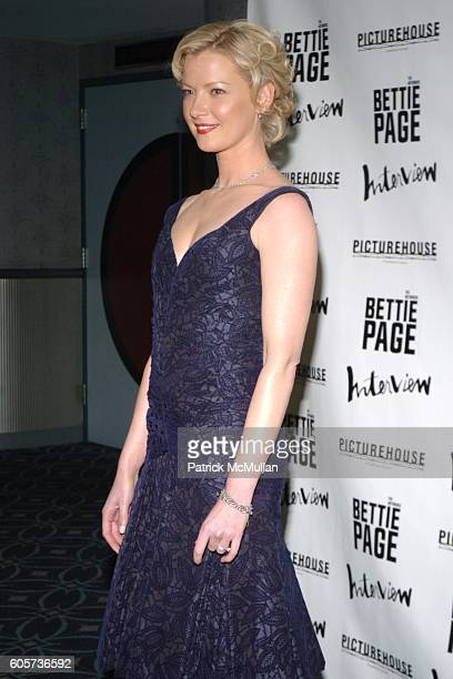 Gretchen Mol attends The New York Premiere of THE NOTORIOUS BETTIE PAGE hosted by INTERVIEW Magazine and Picturehouse at AMC Loews 19th St on April...